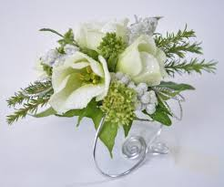 White Wrist Corsage Wrist Corsages U2013 Flowers By Tanya