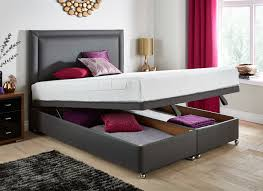 Ottoman Storage Bed Frame by Tempur Sensation Deluxe 22 Ottoman Divan Bed Dreams