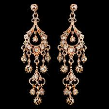 gold chandelier earrings a touch of class creations promise antique gold