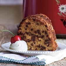 chocolate chip bundt cake recipe myrecipes