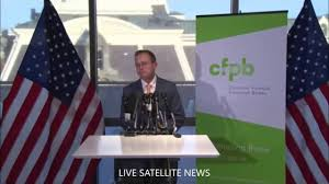 Flag Financial Mick Mulvaney Speaks As Acting Director Of The Consumer Financial