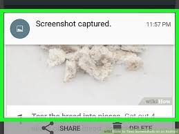 how to take a screenshot on an android tablet how to take screenshots on an android 4 steps with pictures