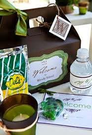 Welcome Baskets For Wedding Guests Top 10 Ideas For Newport Wedding Welcome Bags Borrowed U0026 Blue