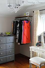 how to organize a bedroom without closet inspirations including