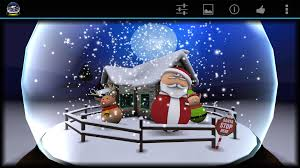 3d christmas advent snow globe android apps on google play