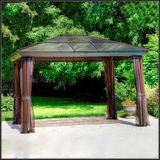 Pre Built Pergola by Garden Pergola Kits Home Depot Allen Roth Gazebo Lowes Gazebos