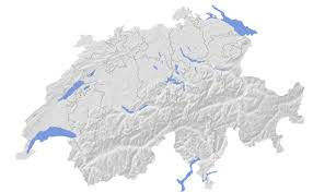 swiss map list of mountains of switzerland