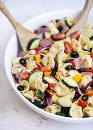 pasta salda easy tortellini italian pasta salad i heart nap time