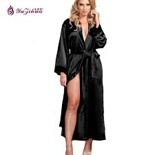 robe de chambre soie big robes de soie pour les femmes peignoir satin robe robes