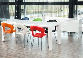 White Dining Table And Coloured Chairs Our Frances Dining Table In Detail Fads Blogfads