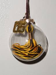 of a graduation tassel ornament