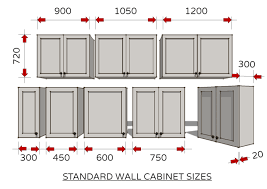 kitchen cabinet height sizes standard dimensions for australian kitchens illustrated