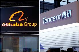alibaba tencent alibaba tencent rally troops amid s 13 1 billion retail battle