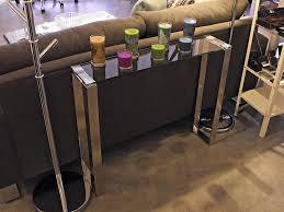 diy narrow sofa table ideas