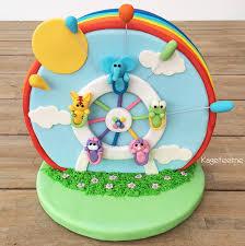 pariserhjul kage til cakeworld nordic 2014 børnekage konkurrence