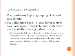 chapter 4 costing b asic c osting t erminology several key