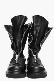 ladies black biker boots take my money rick footwear pinterest rick owens future