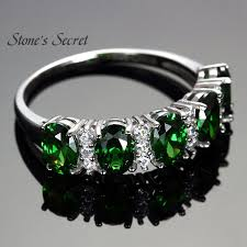 fine emerald rings images 925 sterling silver created emerald ring watch shop jpg
