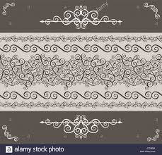 calligraphy ornaments border and design elements for page decoration