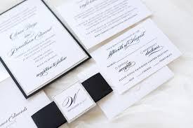 Wedding Invitations Chicago Elegant U0026 Formal Silver Glitter Black And White Wedding