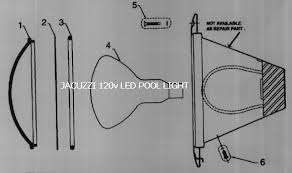 can light replacement parts pool lighting replacement parts for jacuzzi pool lights