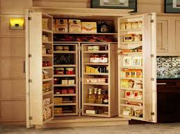 Solid Wood Kitchen Pantry Cabinet Solid Wood Large Alluring Kitchen Pantry Cabinet Home