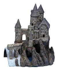 aquarium decorations amazon com penn plax castle aquarium decoration hand painted with