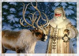 postcards 2004 details about fashioned santa with