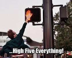 High Five Meme - high five everything viral viral videos