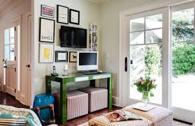Space Saving Home Office Desk Furnitures Space Saving Home Office With Small Green Office Desk