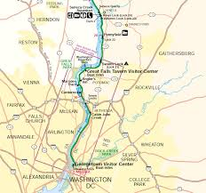 United States Rivers Map by Potomac River