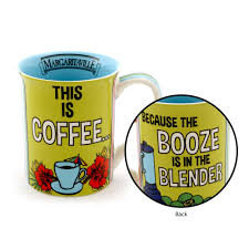 margaritaville cartoon booze in the blender margaritaville mug