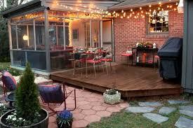 Backyard Ideas For Entertaining 26 Breathtaking Yard And Patio String Lighting Ideas Will