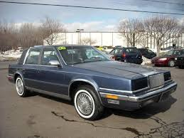 how to sell used cars 1992 chrysler new yorker electronic toll collection 1988 chrysler new yorker overview cargurus