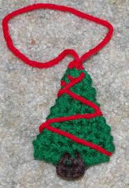 tree ornament free crochet pattern courtesy of