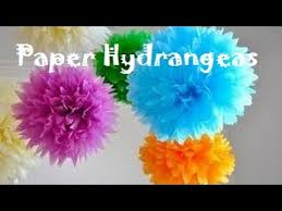 How To Make Decorative Balls Christmas Decoration Ideas How To Make Tissue Paper Hydrangeas