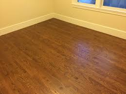 minwax special walnut oak hardwood floors topped with