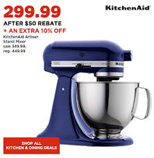 Kitchen Aid Standing Mixer by Kohl U0027s Cyber Monday Deal Kitchenaid Stand Mixers From 105