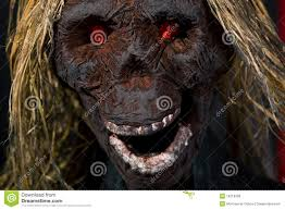 scary halloween face royalty free stock photos image 16319308
