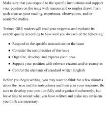 Sample Gre Score Report College Essays College Application Essays Gre Essay Topics List