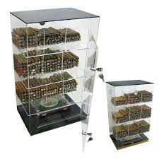 used cigar humidor cabinet for sale roosevelt acrylic humidor cabinet 250 cigar commercial display