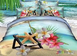 3d Bedroom Sets by 3d Blue Beach Bedding Comforter Set Sets Queen Size Bedspread
