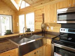 rustic river log cabins