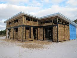 house of straw tips on building using straw bales view from the north west strawbale house build in redmond western australia