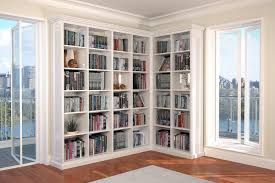 Bookshelves Glass Doors by Bookshelf Marvellous L Shaped Bookcase Bookcase With Doors L