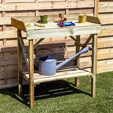 Potting Bench Ikea Wooden Potting Bench Dishfunctional Designs Salvaged Wood Pallet