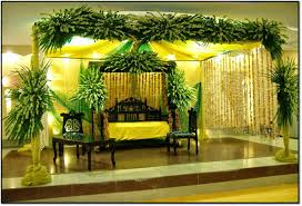 latest flower decoration and various items in foods weddings in