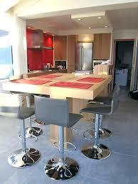cuisine avec bar table table de bar cuisine incyber co