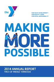2014 ymca of middle tennessee annual report by ymca of middle