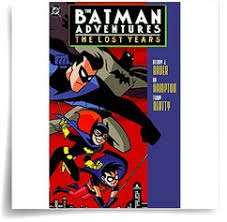 batman adventures lost batman books kids